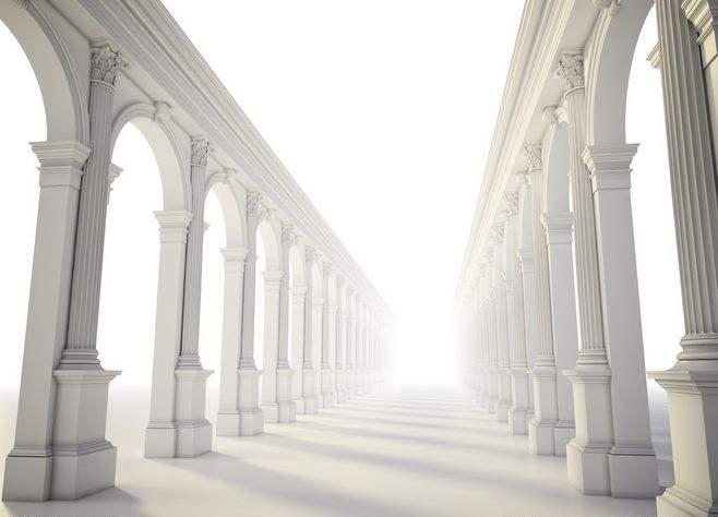 GRC构件中罗马柱