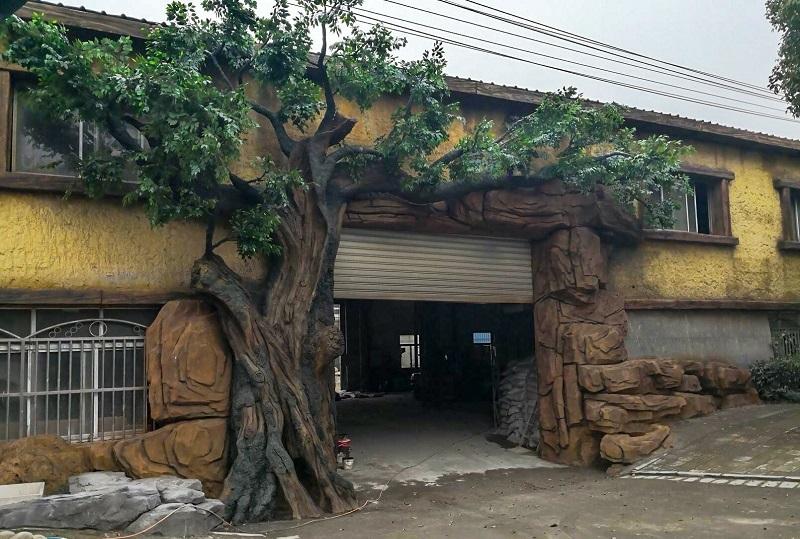 阿尔博GRC仿木仿真树