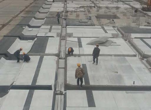 GRC水泥板代替砖胎该怎么进行施工?